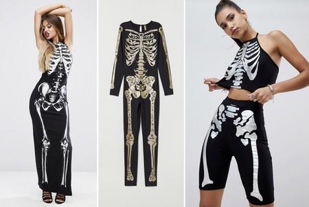 Halloween Disfraz Esqueleto