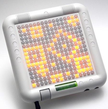 Tenori-On Orange, un instrumento para la era electrónica