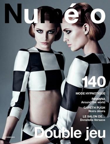 La colección Primavera-Verano 2013  de Louis Vuitton es la preferida para las portadas de moda