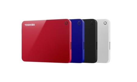 Con 2 TB de espacio para tus archivos, el Toshiba Canvio Advance, en Mediamarkt sólo 84,90 euros
