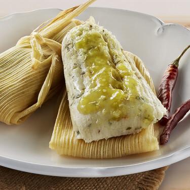 Receta de tamales verdes en vaporera. Un clásico que no puede faltar en los festejos en México