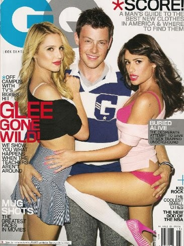 'Glee' calienta el personal de lo lindo en GQ