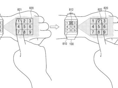 Samsung quiere que su próximo smartwatch proyecte una interfaz virtual en nuestra mano