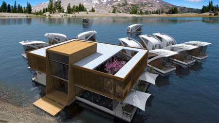 Floating Hotel Architecture