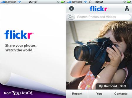 Flickr lanza su aplicación para iPhone