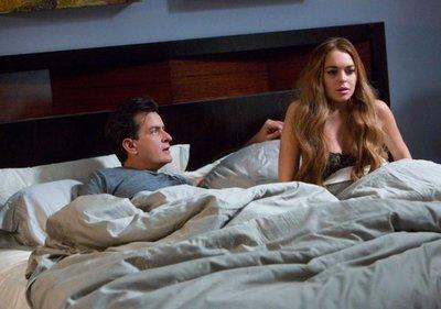 'Scary Movie 5', primera imagen oficial, con Charlie Sheen y Lindsay Lohan