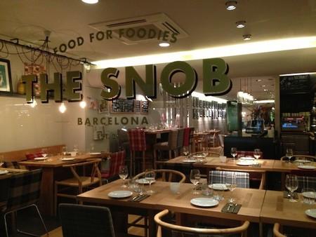 ¿El restaurante de moda en Barcelona? The Snob, quédate con el nombre