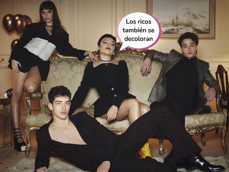 ¡Oferta de grupo! Los sorprendentes cambios de look de Martina Cariddi, Carla Díaz, Manu Ríos y Pol Granch, los fichajes estrella de 'Élite 4'