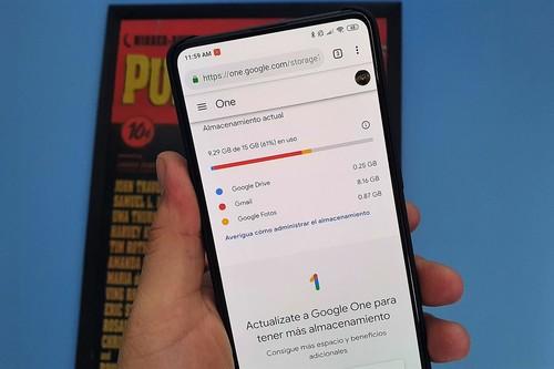 Cómo liberar espacio en mi cuenta de Google (Gmail, Fotos y Drive) en México