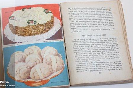El libro de Doña Petrona, edición de 1945. Hojas interiores