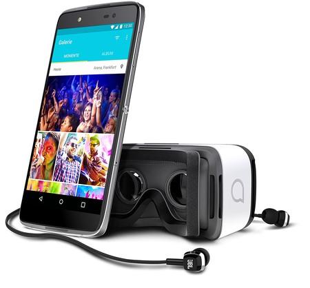 Smartphone Alcatel Idol 4, con gafas VR de regalo, por sólo 129 euros y envío gratis