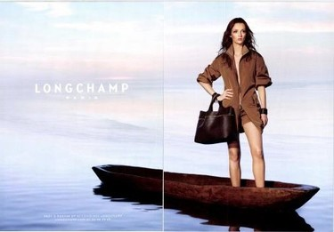 Avance y making-of de la campaña Longchamp Primavera-Verano 2011