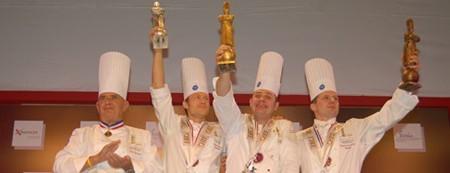 Y el ganador del Bocuse d'Or 2007 es... Fabrice Desvignes