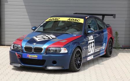 MR Car Design BMW M3 CSL E46