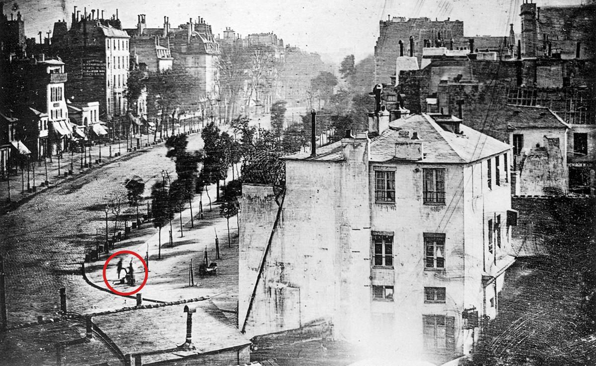 En busca del primer ser humano fotografiado en toda la historia
