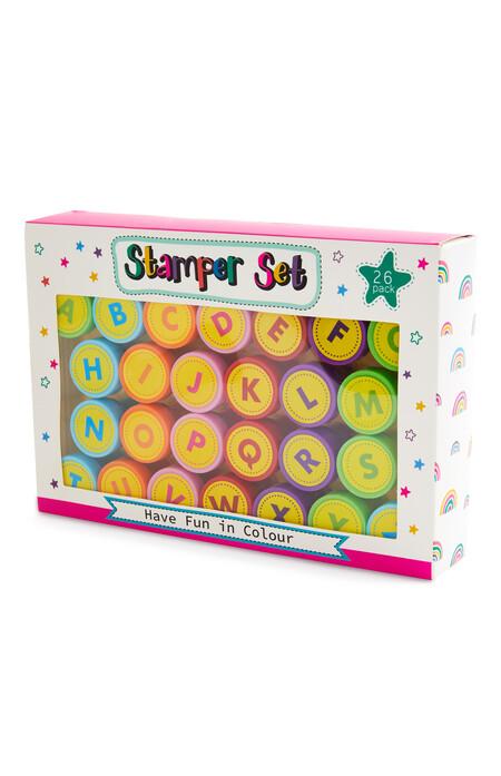Alphabet Stamper Set 26 Pack Gbp3 Eur3 50