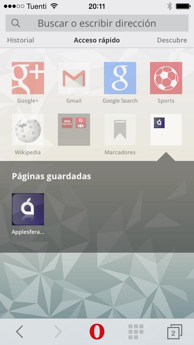 Foto de Opera Mini 8 para iPhone (8/10)