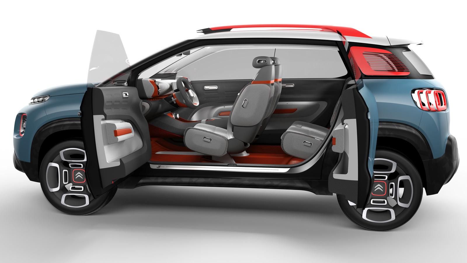 Foto de Citroën C-Aircross Concept (6/12)