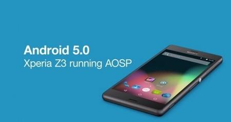 Sony no se queda atrás, nos muestra su proyecto AOSP y Lollipop corriendo en un Z3