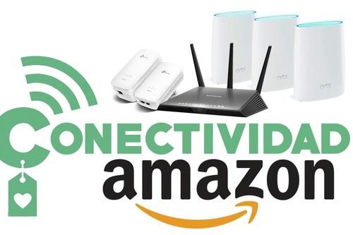 Las 9 mejores ofertas en conectividad en Amazon: routers, extensores o switches de TP-Link, Netgear y D-Link
