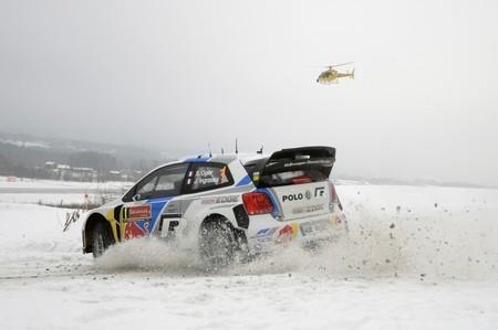 Rally de Suecia 2014: Sébastien Ogier ataca y termina el día líder