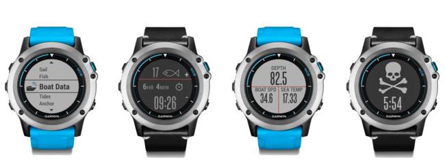 Garmin lanza el Quatix 3, un reloj para amantes de los deportes marinos