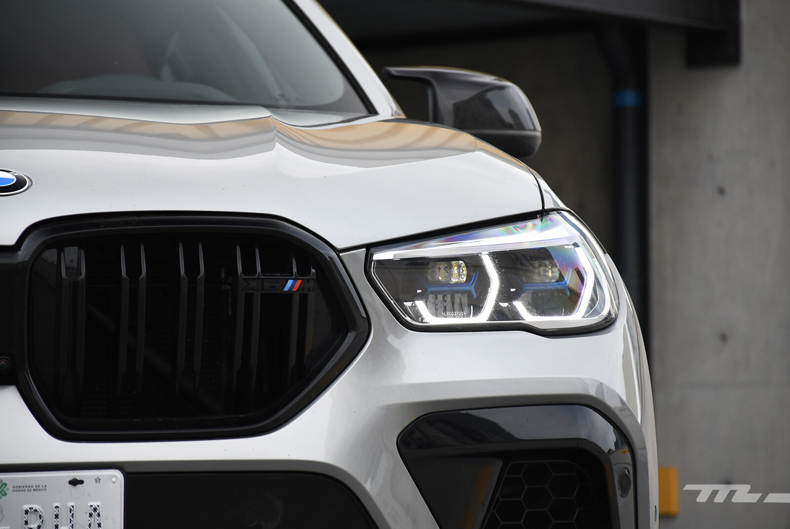 Foto de BMW X6 M Competition 2021 (prueba) (11/27)