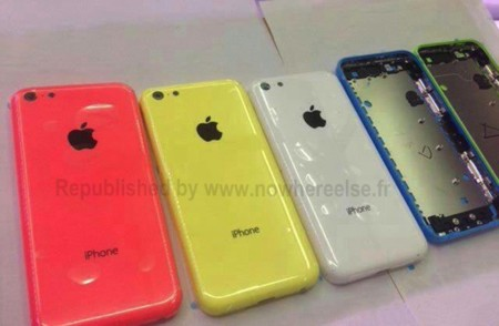 iPhone plastico colores