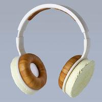 Estos auriculares son cuando menos curiosos: han sido creados a base de hongos y microbios, pero aún están en fase de prototipo