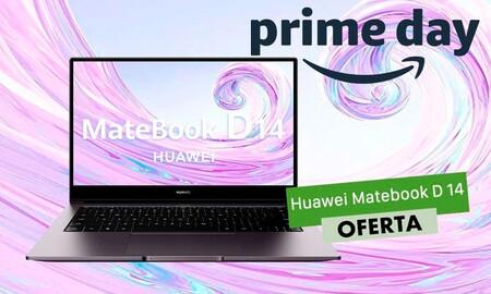 El Prime Day nos deja a su precio más bajo hasta la fecha un portátil ligero y de gama media como el Huawei MateBook D14: lo tenemos por sólo 499,99 euros
