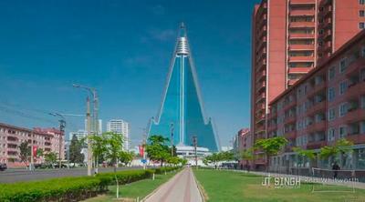 Entramos en Pyongyang, el time-lapse de la capital de Corea del Norte