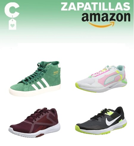 Chollos en tallas sueltas de  zapatillas Reebok, Nike, Adidas o New Balance en Amazon