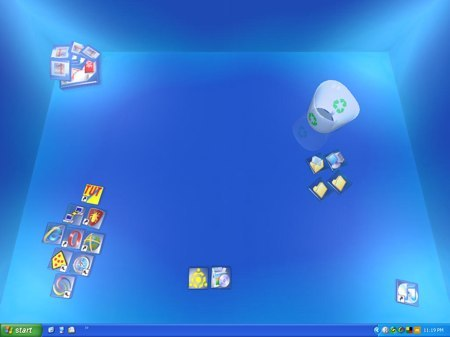 Real Desktop, un escritorio para Window en 3D