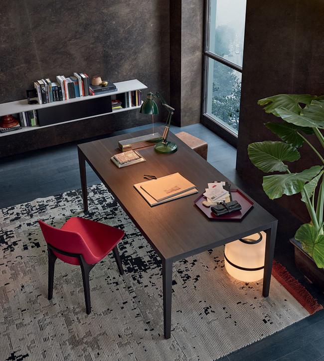 Home Office Con Mobiliario Moderno De Poliform
