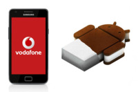 Ya disponible para Samsung Galaxy SII (Vodafone) la actualización a Ice Cream Sandwich