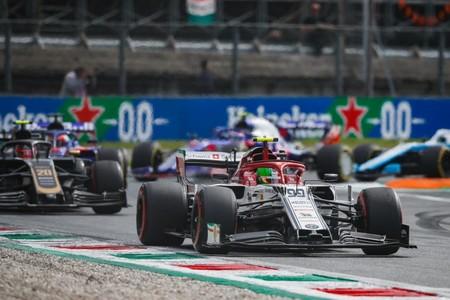 Giovinazzi Monza F1 2019
