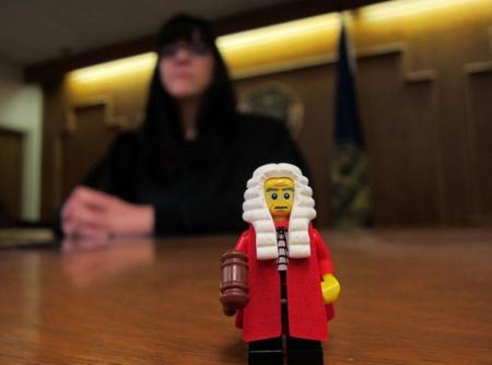 Juez LEGO
