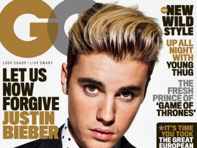 ¡Así, sí! Justin Bieber increíblemente bien vestido en dos portadas especiales de GQ