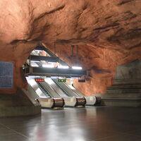 Pequeños huevos de Pascua se esconden en los orificios de ventilación de los trenes más nuevos de Estocolmo