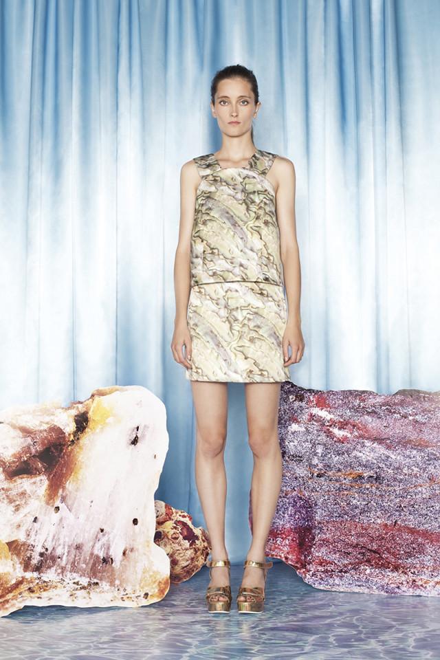 Colección Bimba y Lola Primavera-Verano 2014 Iekeliene Stange total print