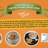 Festival de la Gastronomía Mexicana en Pane En Vía