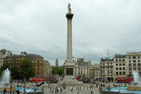 Trafalgar Square: donde viven los halcones y está la prisión mas pequeña del mundo