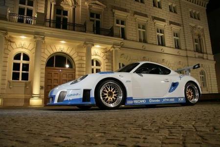 Porsche Cayman X-Wide, la creación de XTR Carchip