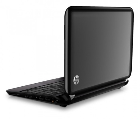HP Mini 1104 detrás