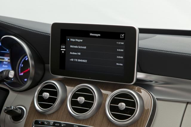 Foto de CarPlay Mercedes Benz Clase C (3/26)