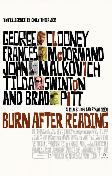 'Burn After Reading', nuevos posters de la próxima película de los Coen