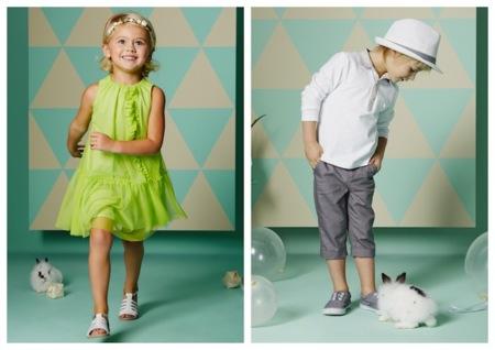 La mejor moda infantil de fiesta y de temporada a precios low cost