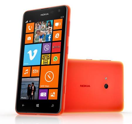 Nokia Lumia 625 ya está aquí