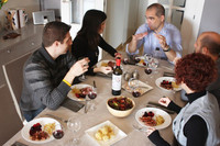 Cookflat, come con anfitriones de cualquier parte del mundo en su casa particular