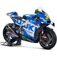 Suzuki mantiene la decoración para la moto con la que Joan Mir defenderá su título de MotoGP